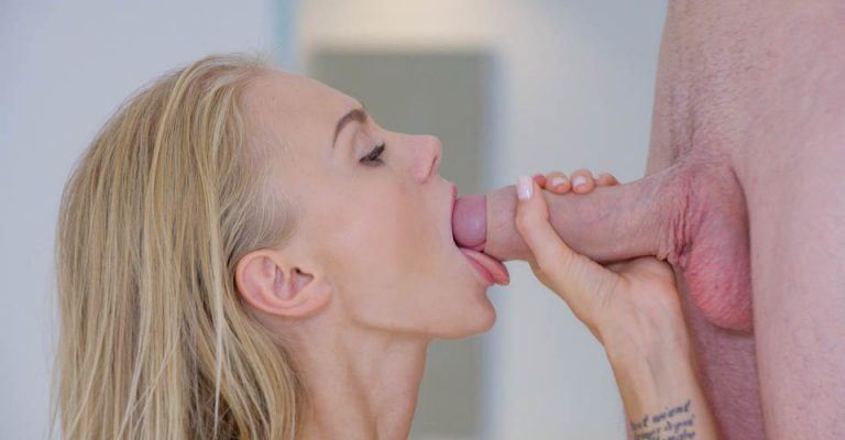 Exploring Horny Blonde
